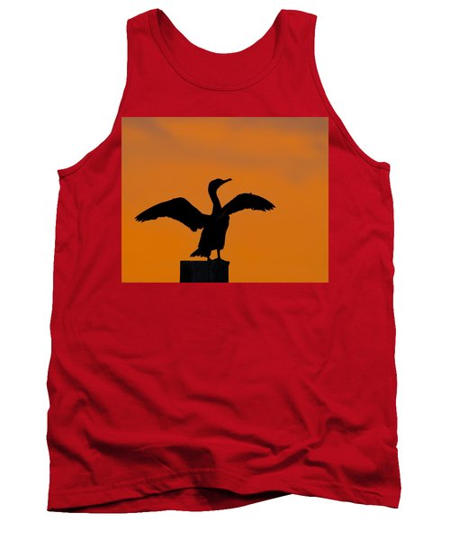 Dawn Of A Double-crested Cormorant  Tank Top