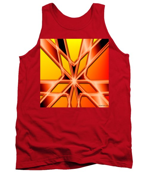 Tank Top featuring the digital art Deep Thought by George Pedro