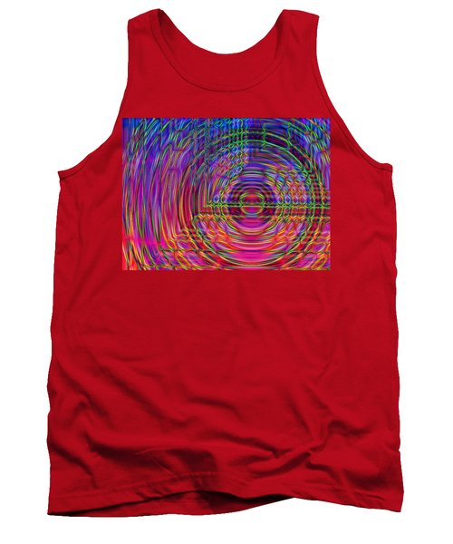 Tank Top featuring the digital art Digets by David Pantuso
