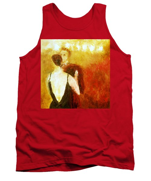 Tank Top featuring the painting Enchanted Evening by Keith Thue