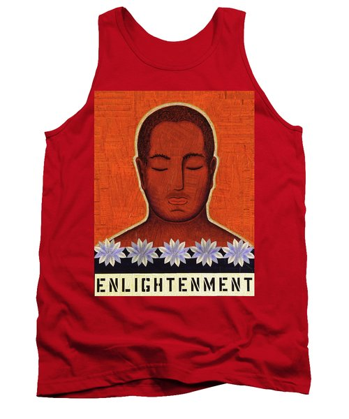 Tank Top featuring the mixed media Enlightenment by Gloria Rothrock