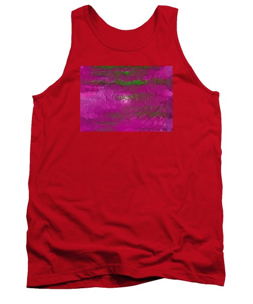 Tank Top featuring the digital art Erexon by Jeff Iverson