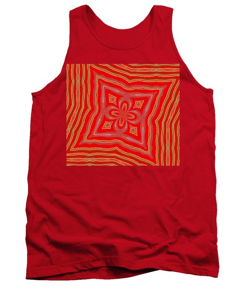 Tank Top featuring the digital art Favorite Red Pillow by Alec Drake