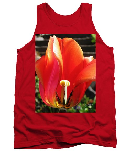 Tank Top featuring the photograph Flame by Rory Sagner