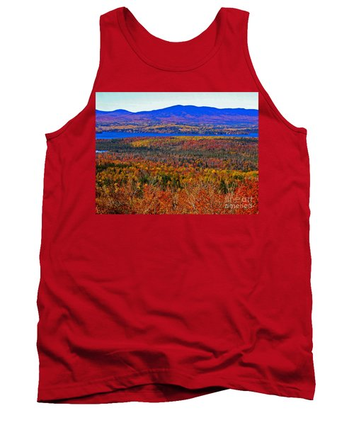 Foliage From Height Of Land Tank Top
