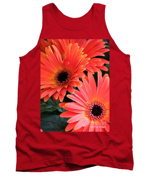 Tank Top featuring the photograph Gerbera Bliss by Rory Sagner