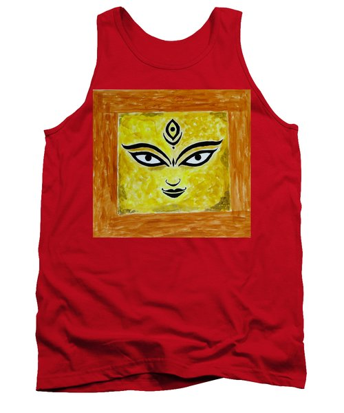 Tank Top featuring the painting Goddess Kali by Sonali Gangane