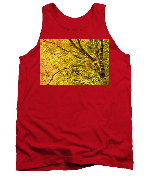 Golden Autumn Tank Top