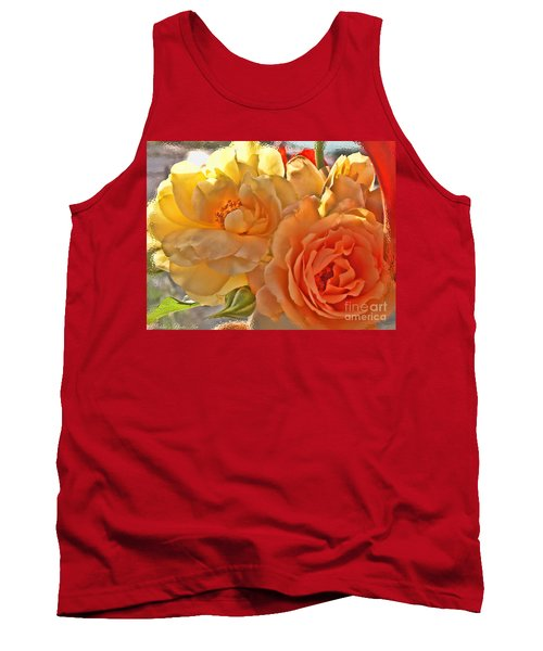 Tank Top featuring the photograph Golden Light by Debbie Portwood
