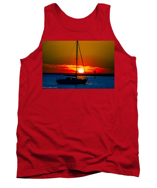 Tank Top featuring the photograph Good Night by Shannon Harrington