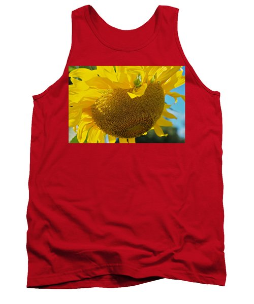 Tank Top featuring the photograph Hungover by Joseph Yarbrough