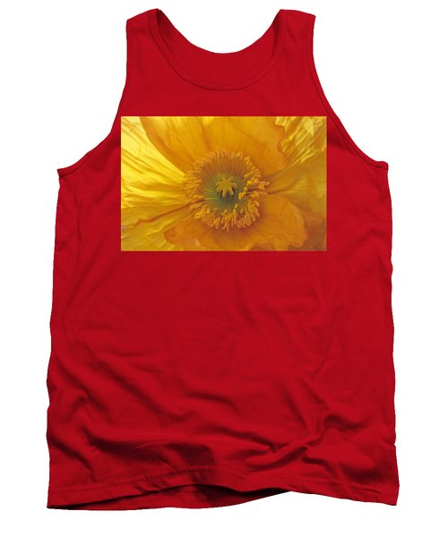 Tank Top featuring the photograph Iceland Poppy 4 by Susan Rovira