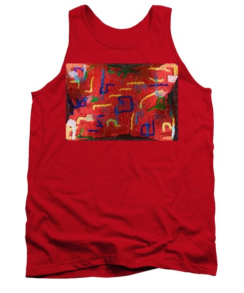 Tank Top featuring the digital art Italian Pillow by Alec Drake