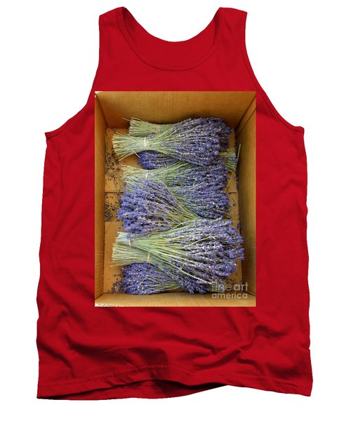 Tank Top featuring the photograph Lavender Bundles by Lainie Wrightson
