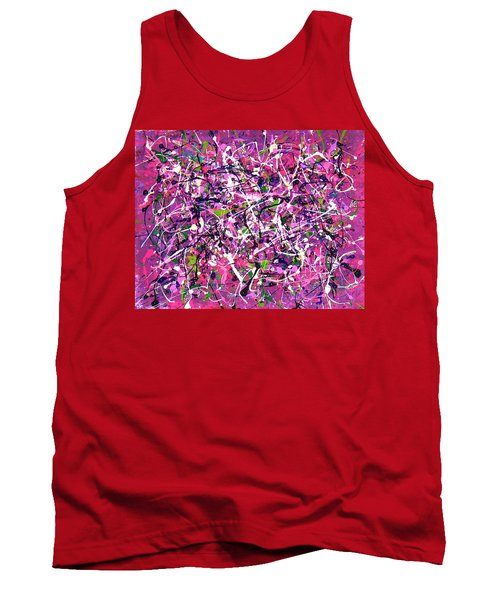 Lavender Fields Forever Tank Top