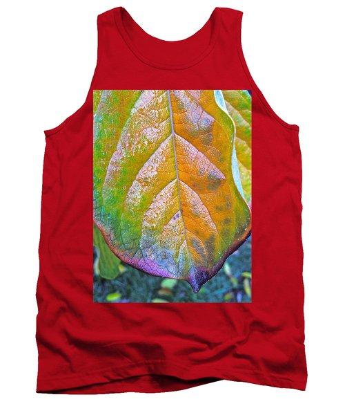 Leaf Tank Top by Bill Owen