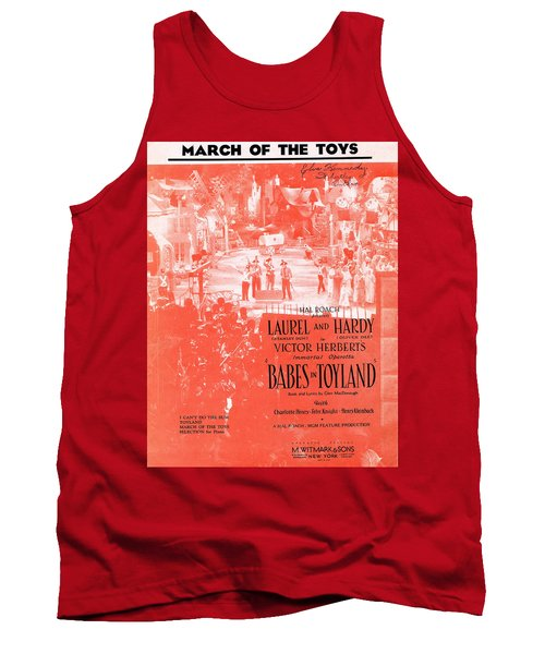 March Of The Toys Tank Top