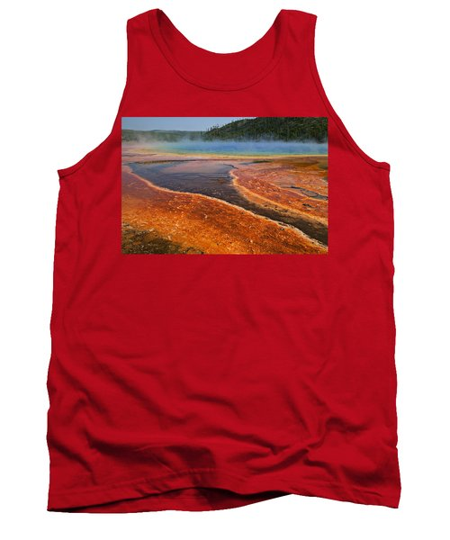 Middle Hot Springs Yellowstone Tank Top
