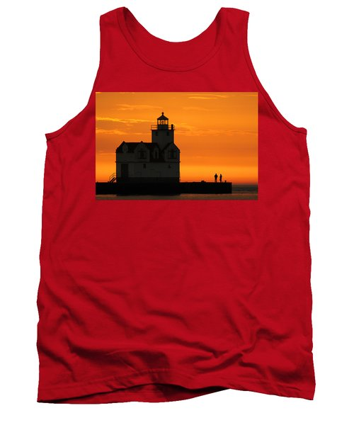Morning Friends Tank Top by Bill Pevlor