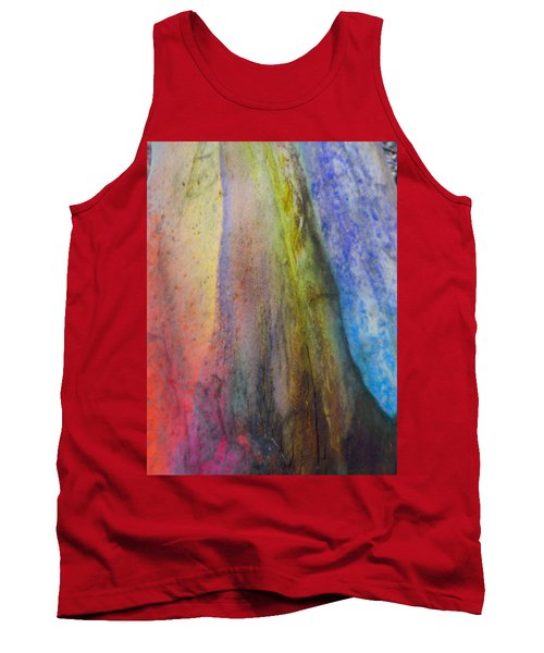 Tank Top featuring the digital art Move On by Richard Laeton