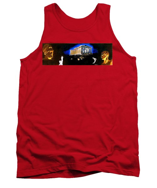 Mural - Night Tank Top