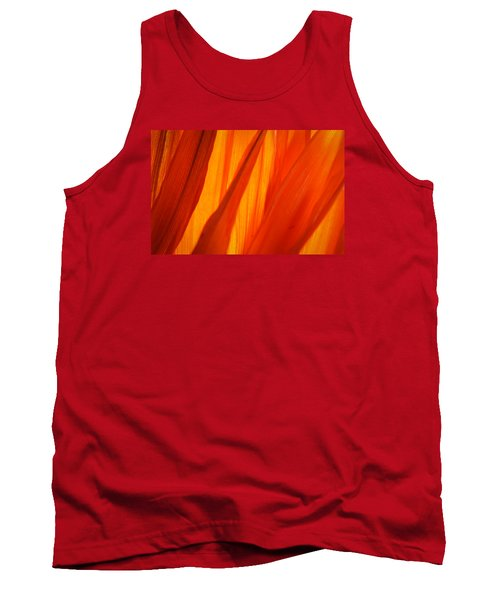 Tank Top featuring the photograph Orange Sunshine by Bobby Villapando