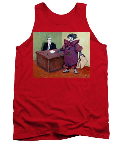 Overqualified Tank Top