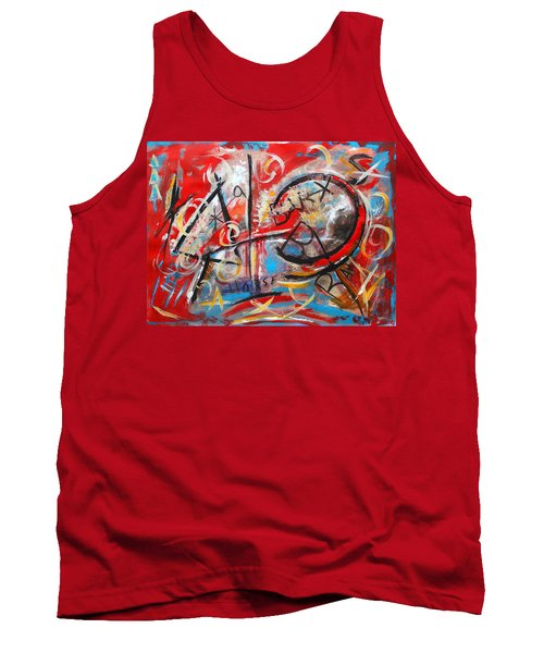 Party At The Ranch Tank Top by M Diane Bonaparte