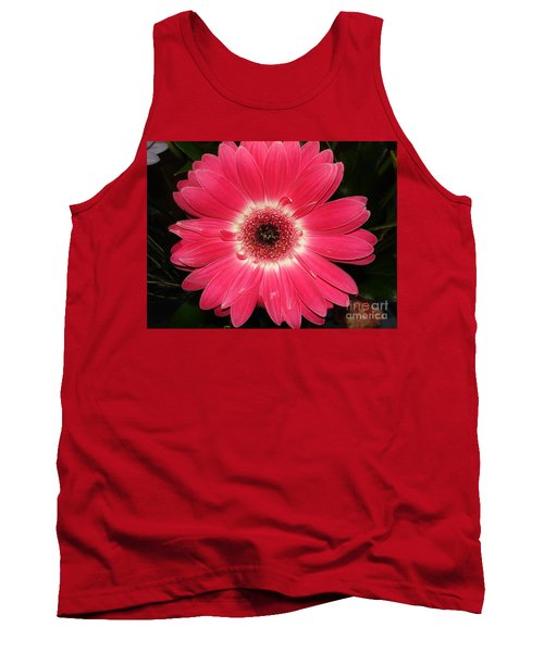 Tank Top featuring the photograph Pink Gerbera Daisy by Kerri Mortenson