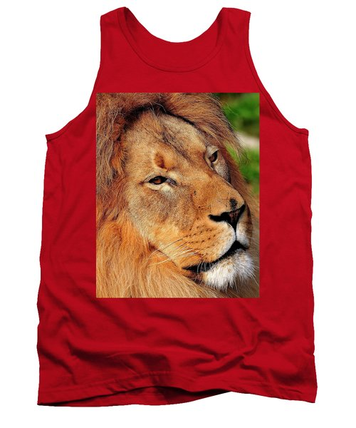 Portrait Of The King Tank Top