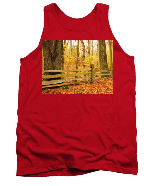 Post And Rail Tank Top