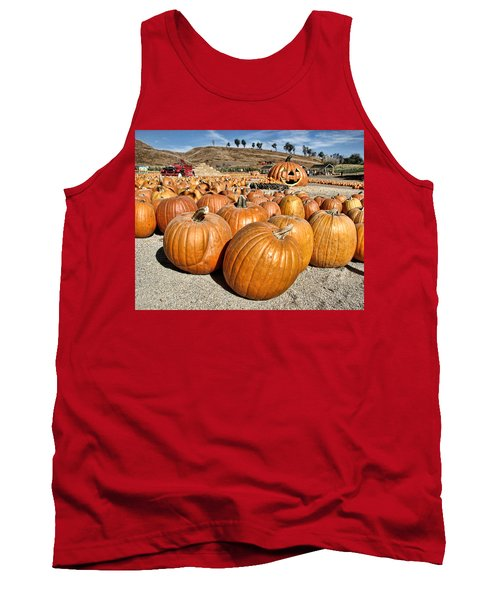 Pumpkin Patch 3 Tank Top