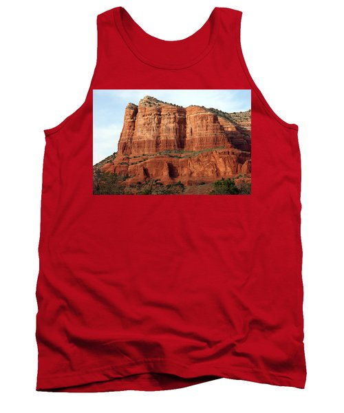 Tank Top featuring the photograph Sedona Red by Debbie Hart