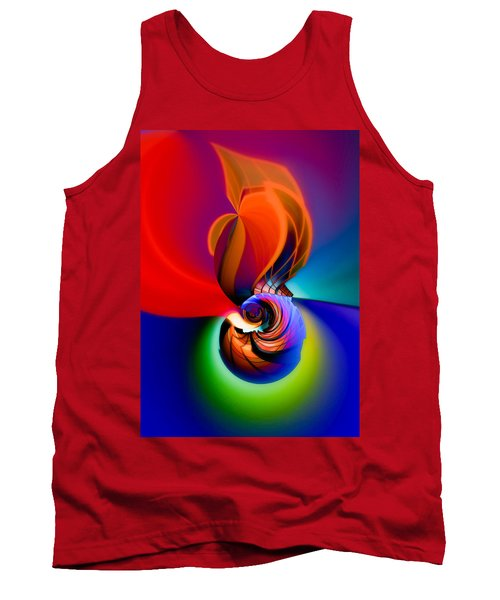 Siphonophoric Colony Tank Top