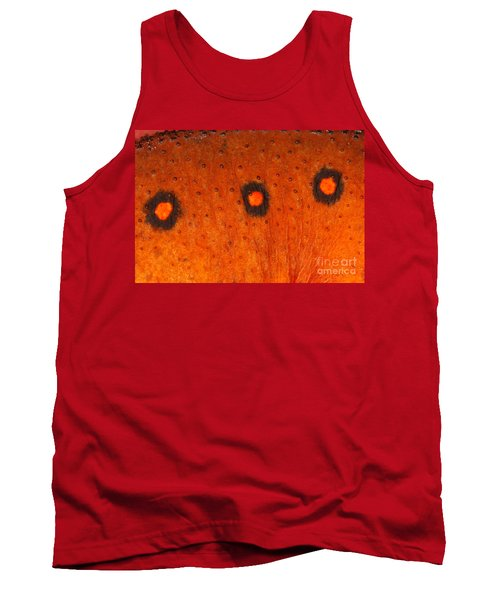 Skin Of Eastern Newt Tank Top by Ted Kinsman