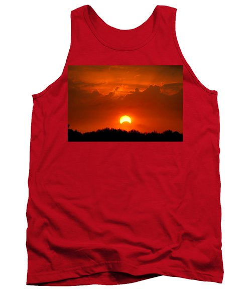 Solar Eclipse Tank Top by Bill Pevlor