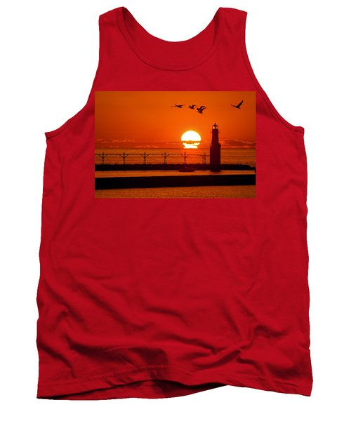 Summer Escape Tank Top by Bill Pevlor