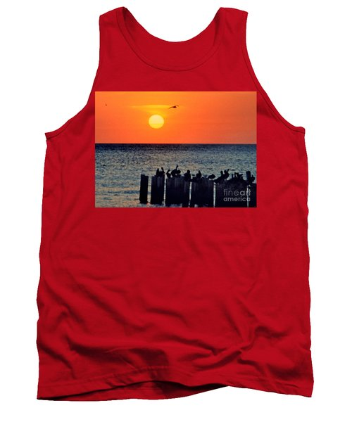 Tank Top featuring the photograph Sunset In Florida by Lydia Holly