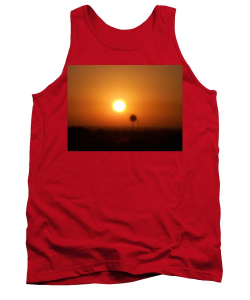 Texas Sunrise Tank Top by Adam Cornelison