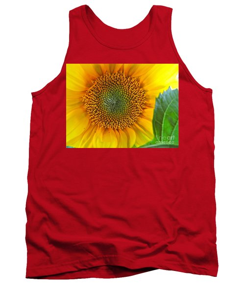 The Last Sunflower Tank Top by Sean Griffin