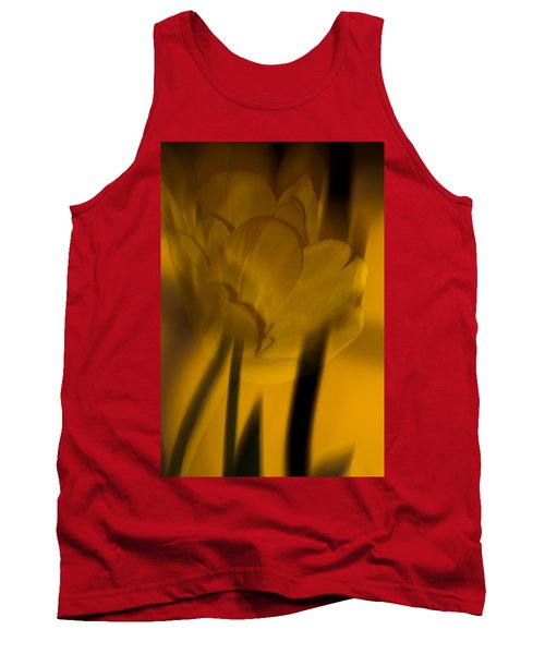 Tank Top featuring the photograph Tulip Abstract by Ed Gleichman