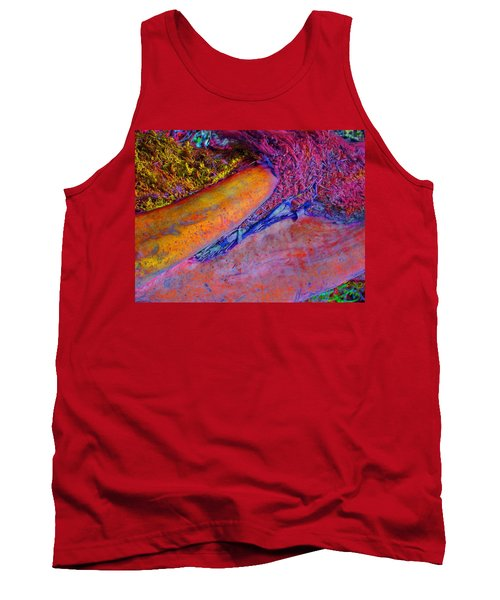 Tank Top featuring the digital art Waking Up by Richard Laeton