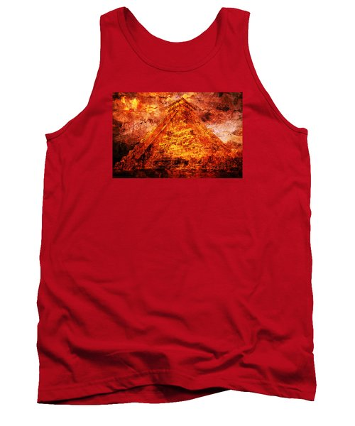 Kukulcan Pyramid Tank Top
