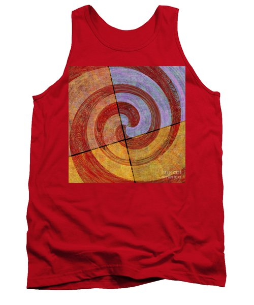 0581 Abstract Thought Tank Top