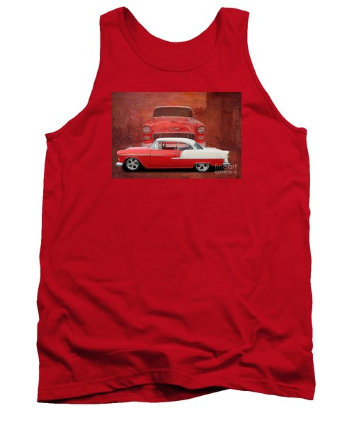 55 Chev Beauty Tank Top by Jim  Hatch