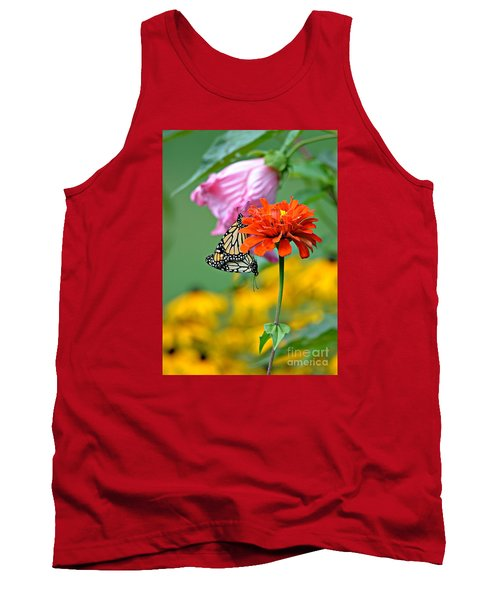 Tank Top featuring the photograph A New Beginning by Lila Fisher-Wenzel