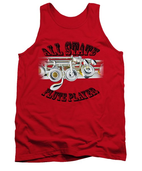 All State Flute Player Tank Top