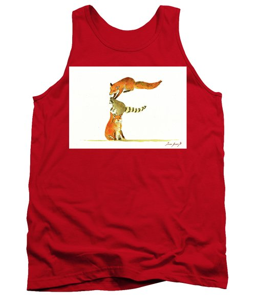 Animal Letter Tank Top