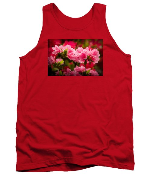 Blooming Delight Tank Top by Denis Lemay
