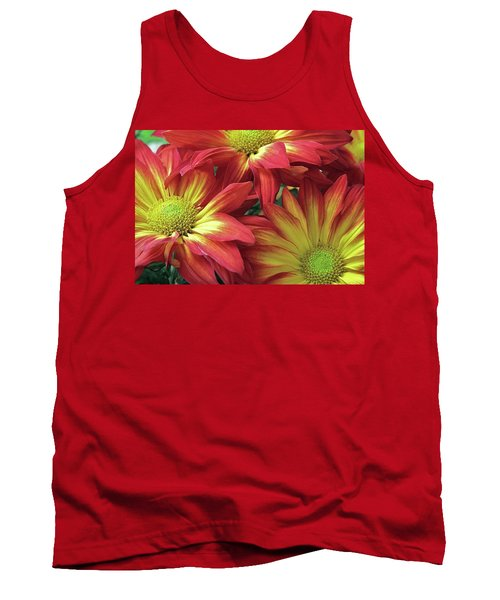 Tank Top featuring the photograph Beautiful Trio by Allen Beatty